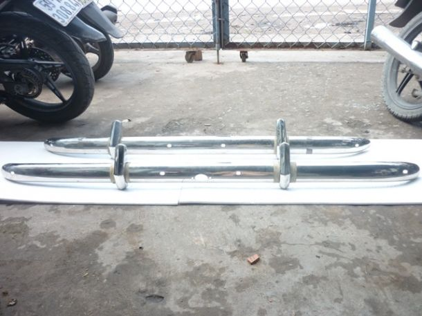 Bristoll 400 Stainless Steel Bumper full set8070470951504600742