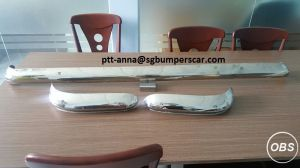 1963 Ford Escort Stainless Steel Bumpers