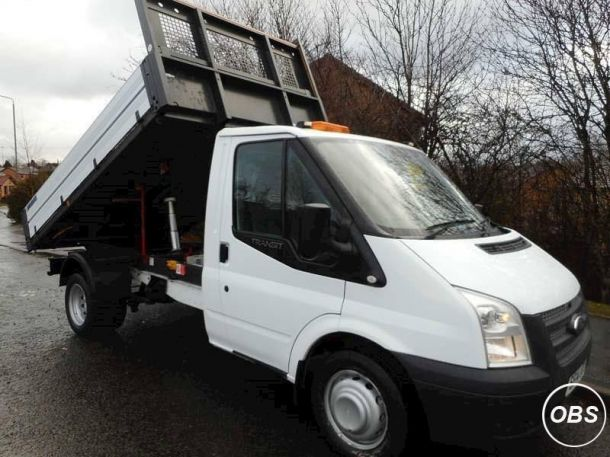 2014 Ford Transit 350 Single Cab Drw Tipper 22 Manual Diesel One Stop Tipper