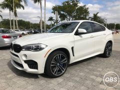 2017 BMW X6 M AWD for sale and very clean