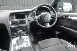 Audi Q7 30 TDI Diesel Quattro S Line 7 Seats Cobalt Blue Plus High Spec UK Free Ads
