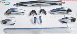 BMW 1600 2002 short stainless steel bumper set