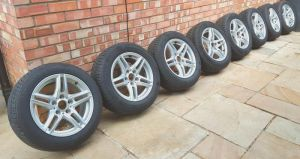 BMW Winter Wheels and Tyres in Very Good Condition at UK Free Classified Ads