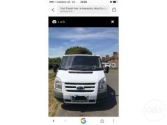 Cheap  Vans Ford Transit Van 2011 for Sale in the UK
