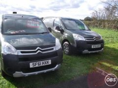 Citroen Berlingo 3 Front Seats Side Loading Door Bennett Van Sales Ormskirk at UK Free Classified Ads