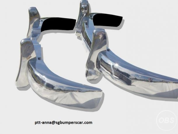 Front bumper and Rear Bumper for Mercedes Benz 180190 pontonV Shape