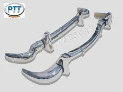 Mercedes Benz 190SL stainless steel bumpers