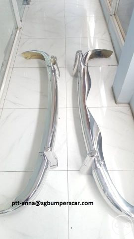 Mercedes Benz 219220S Stainless Steel Bumpers