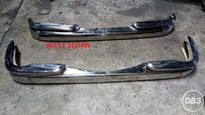 Mercedes Benz W111 Sedan  Coupe Stainless Steel Bumper