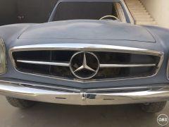 Mercedes Benz W113 Stainless Steel Bumper