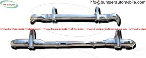Mercedes W121 190SL bumper by stainless steel