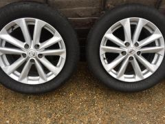 Nissan Qashqai 2014 17 inch Alloy Wheels for Sale at UK Free Classified Ads