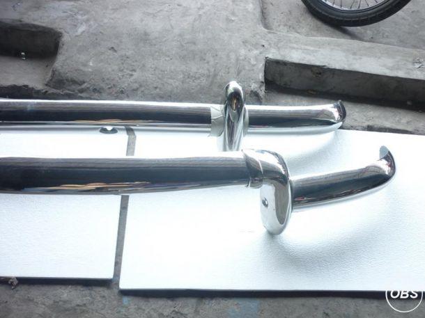 Renault Dauphine Stainless Steel Bumper