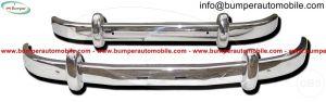 Saab 93 stainless steel bumper (19561959)