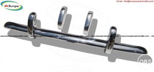 Triumph TR3A stainless steel bumper kit