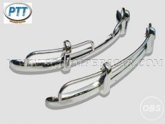 VW Beetle US style stainless steel bumper