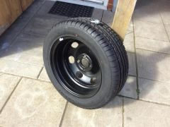 Wheel and Spare Tyre For Sale at UK Free Classified Ads