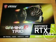 MSI Rtx 2080Ti 11GB X Trio 1080ti