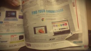 acer chromebook laptop in good condtion