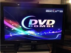 AKURA Combined TV and DVD Player for Sale in the UK
