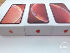 Apple iPhone XR Carrier Unlocked 64GB 3 Units Used Condition A Grade Sale in UK