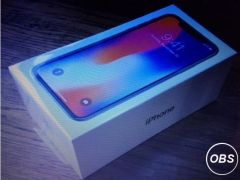 Apple iPhoneX 256GB silver unlocked brand new for Sale in the UK