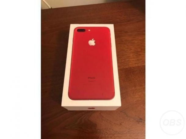 Brand New Apple Iphone 7 Plus Red for Sale in the UK