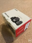 Canon EOS 1200D 180MP Digital SLR  Black (New in Boxed condition) with lens