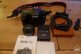 CANON EOS 7D MARK2 with all accessorie for Sale in the UK