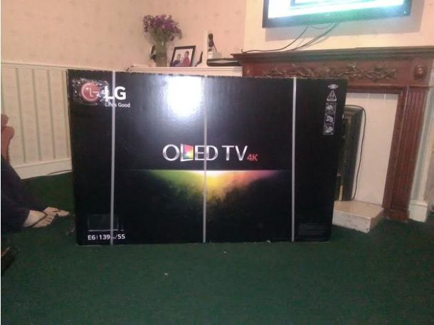 cheap lg oled tv for sale in the uk tv dvd blu ray videos england essex southminster. Black Bedroom Furniture Sets. Home Design Ideas