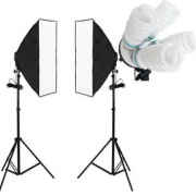 Continuous Fluorescent Lighting  Softbox Studio Lights for Sale