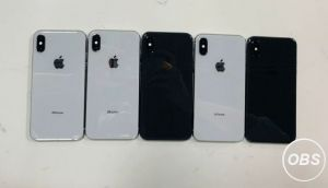 For Sale Apple iPhone X 64GB Carrier Unlocked PhoneCheck Certified 5 Units in UK