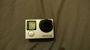 For Sale gopro hero 4 silver with literally in UK