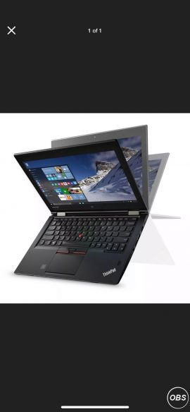 For Sale Lenovo Yoga 260 Core i3 6th generation  4G (Takes Sim Card) 4gb in UK