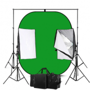 Green And Blue Screen Backdrop Photography Studio Lighting