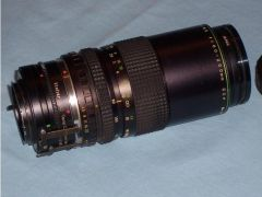 Hanimex 80200mm tele lens with Vivitar fitment for Sale in UK