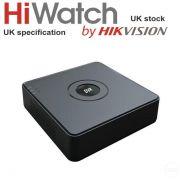 Hiwatch by Hikvision DVR104GF1 8Ch 1TB Turbo HD Video Recorder 2MP 1080P TVI AHD
