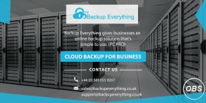 how to access the cloud backup for small business
