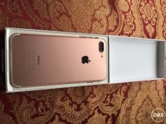 iPhone 7 plus 128GB brand new sim free rose gold full warrantee gift idea UK Free Ads