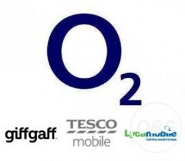 IPHONE O2 TESCO GIFGAF * UK * 8 8PLUS ** CLEAN SERVICE **  IN UK MOBILECODE