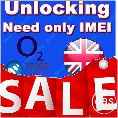 IPHONE O2 TESCO GIFGAFF * UK * (3G TO 7PLUS) *24 TO 48 HOURS *EMERGENCY SERVICE** CLEAN IN UK MOBILECODE