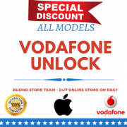 IPHONE VODAFONE * UK * 3G TO 7 PLUS **NORMAL SERVICE** 80 SUCCESS RATIO * CLEAN  IN UK MOBILECODE