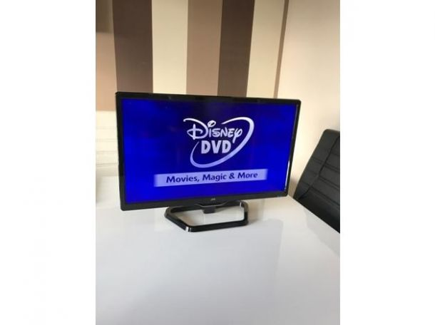 jvc 24 inch led tv dvd combi for sale in the uk tv dvd. Black Bedroom Furniture Sets. Home Design Ideas