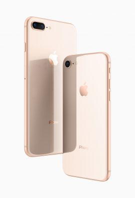 New apple iPhone 8 gold 64gb with 2yr warranty