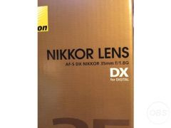 Nikon 35mm lens for Sale in the UK