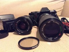 Pentax P30 camera and lenses for Sale in the UK
