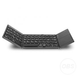 Wireless Folding Portable Bluetooth Keyboard wTouchpad