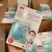 3M Health Care Particulate Respirator and Surgical Mask 1860 N95
