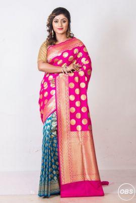 Buy Opara silk sarees online at Banarasi Niketan