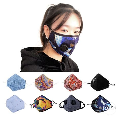 carbon filter cotton cloth half antismog pm25 virus antipollution facemask  2 buyers